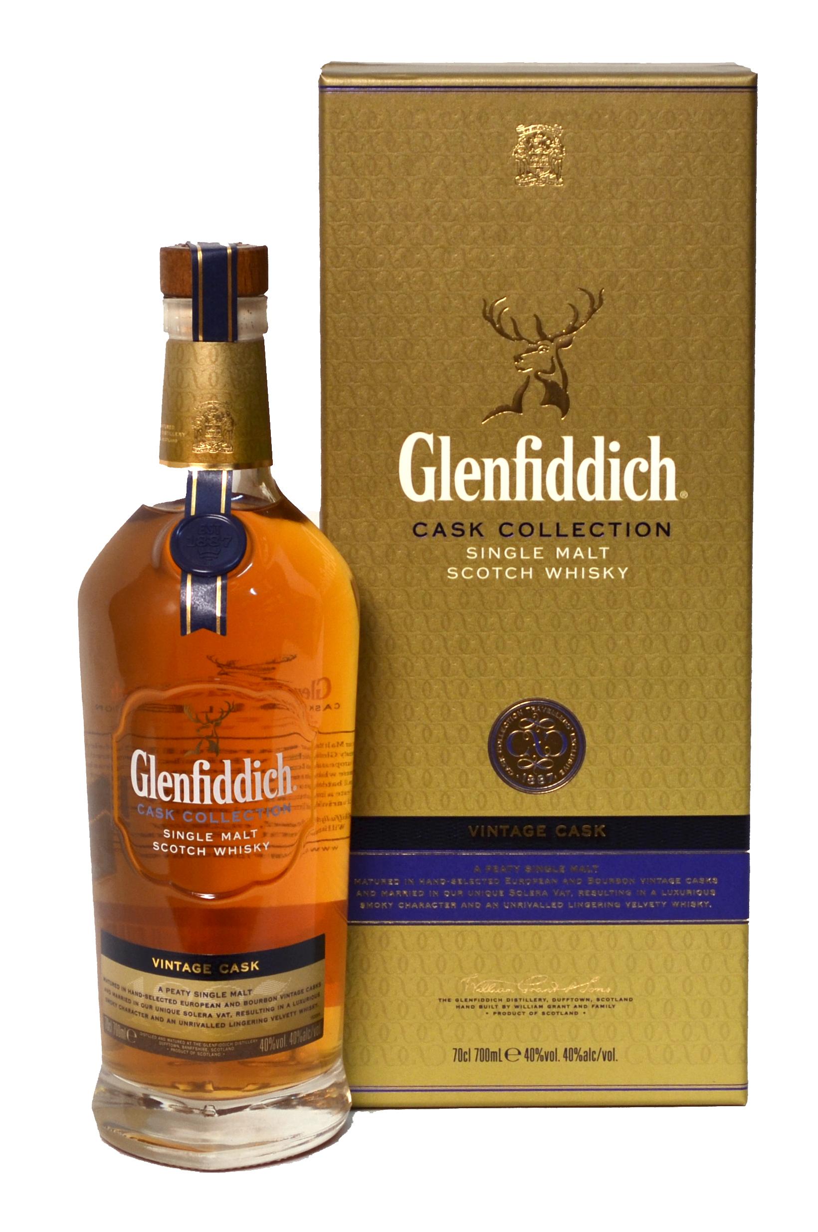 Buy GLENFIDDICH VINTAGE CASK SINGLE MALT SCOTCH WHISKY
