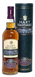 Hart Brothers Blended Malt Port Finish 17Y 50°