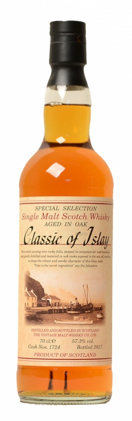 Classic of Islay Vintage Oak  Cask 1724