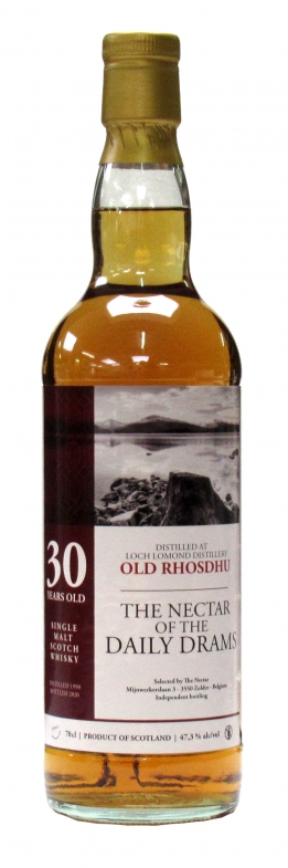 Old Rhosdhu Daily Drams 1990 30 Y 47.3°