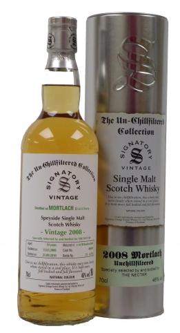 Signatory Vintage Mortlach whisky